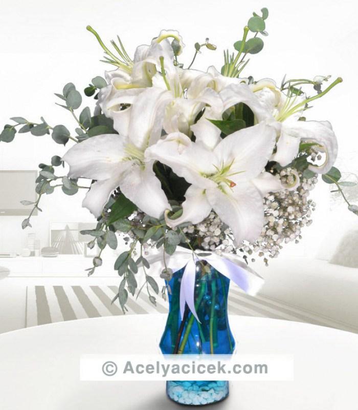 Su Perisi Lilyum Çiçeği
