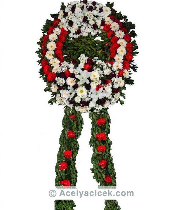 Kırmızı Cenaze Çelengi